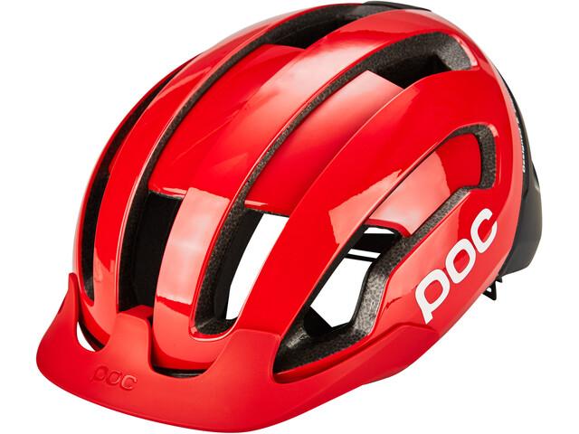 POC Omne Air Resistance Spin Helmet prismane red